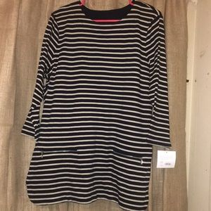Brand new stripe blouse
